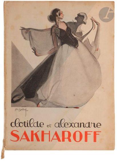 Ensemble sur le couple de danseurs Clotilde...