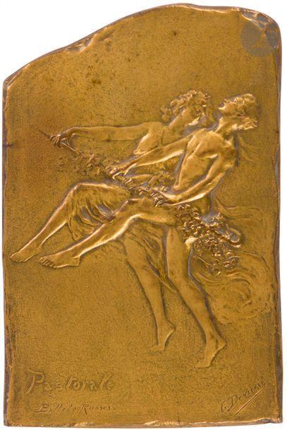 Godefroid DEVREESE (1861-1941) «Pastorale»,...