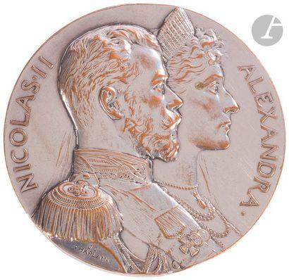 Jules-Clément CHAPLAIN (1839-1909) Médaille...
