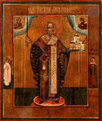 Icône de saint Nicolas de Mojaïsk, circa...