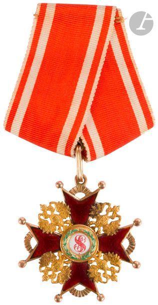 Croix de l'ordre de Saint Stanislas, 3e classe...