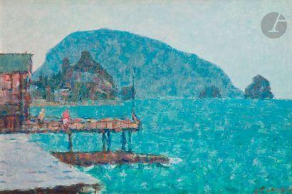 Filaret Ivanovitch PAKOUN (1912-2002) Paysage...