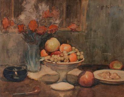 Petr Alexandrovitch NILOUSS (1869-1943) Nature...