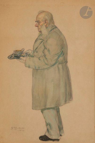 Boris Mikhailovitch KUSTODIEV (1878-1927)...