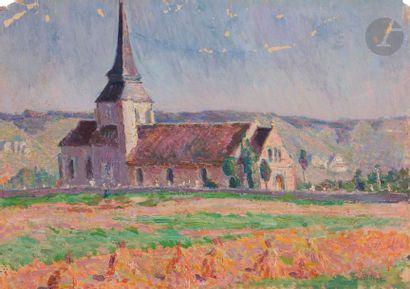 David Osipovitch WIDHOPFF (1867-1933) Paysage...
