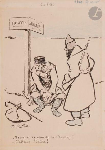 Henri Gabriel IBELS (1867-1936) Les Exilés...