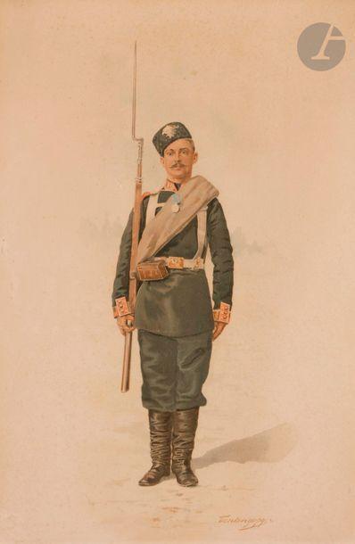 Dmitri Alexandrovitch BENKENDORFF (1845-1919?)...