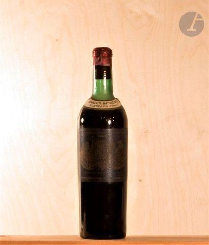 1 B CHÂTEAU PALMER (M.E.-; e.f.s; c.c; capsule et bouchon estampés), GCC3 Margaux,...
