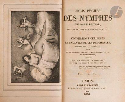 JOLIS PÉCHÉS DES NYMPHES DU PALAIS-ROYAL,...