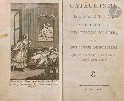 CATÉCHISME LIBERTIN, À L'USAGE DES FILLES...