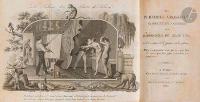 CUISIN (J.-P.-R.)]. Les Perfidies assassines,...