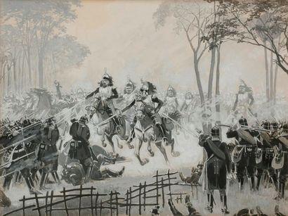 École française de la fin du XIXe siècle...