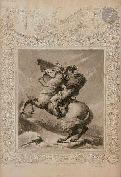 DAVID, d'après Bonaparte franchissant le...
