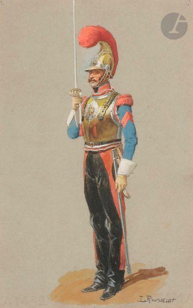 Lucien ROUSSELOT (1900-1992) Carabinier du...