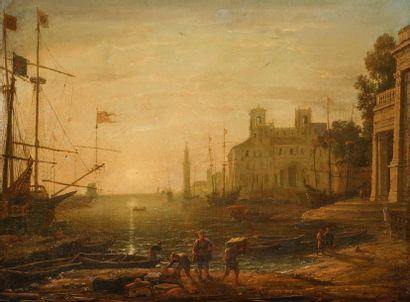 École FRANÇAISE vers 1700, suiveur de Claude...