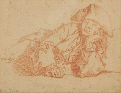 Attribué à Etienne JEAURAT (Vermenton 1699...