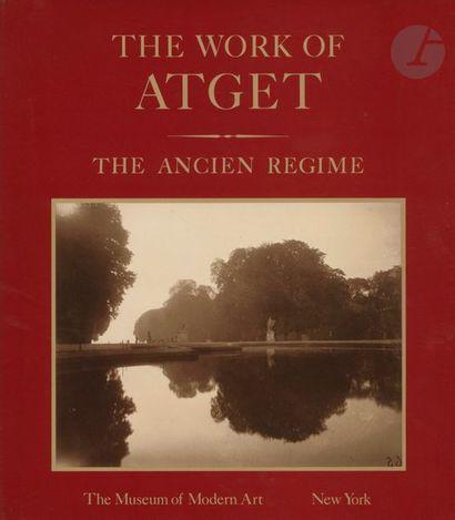 ATGET, EUGENE (1857-1927) 6 volumes. SZARKOWSKI, JOHN HAMBOURG, MARIA MORRIS The...