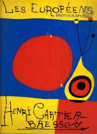 CARTIER-BRESSON, HENRI (1908-2004) Les Européens. Verve, Paris, 1955. In-folio (37...