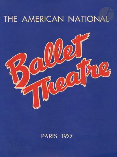 DANSE 18 plaquettes de soirées de Ballet et Gala de danses des années 40 et 50....