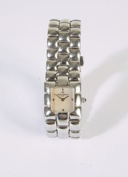 HERBELIN. Montre bracelet pour femme en acier....