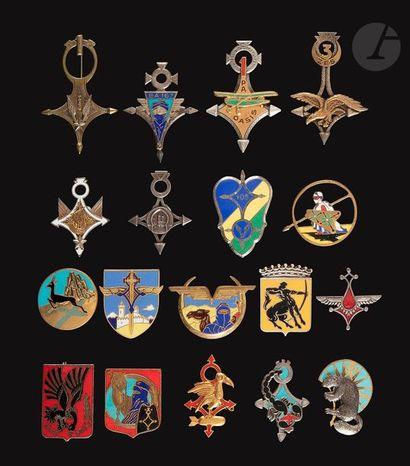 18 insignes ALAT et Armée de l'air - 1er...