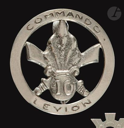 Insigne du Commando Leyion du 1er BEP fabrication...