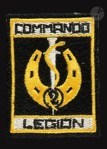 Insigne tissu du Commando du 5e REI.