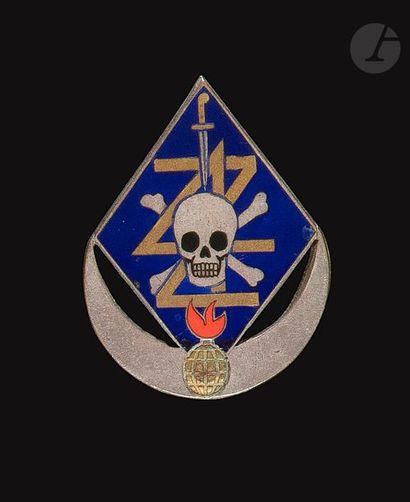 Insigne du Corps Franc du 4e Zouaves (Fr...