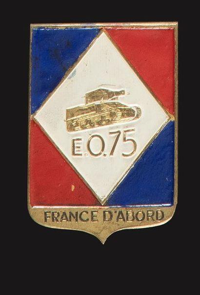 Insigne de l'Escadron Obusier 11e RCA (Graziani,...
