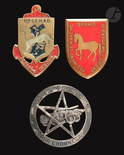 3 insignesdu RMSMEO (Dr Ber), 1/2 RSM 1er...