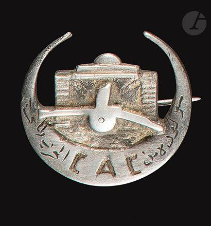 Très rare insigne de la Compagnie Anti-Chars...