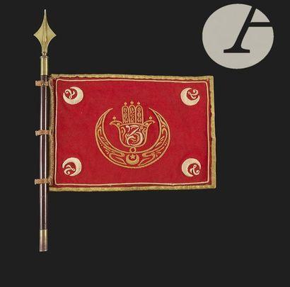 Fanion du 7e Escadron 2e Régiment de Spahis...