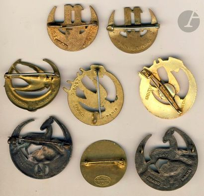 8 insignes – 2x 11e RTA (Abpd et OFSI), 3x 13e (Abpd, Drago, Mardini) et 3x 14e...