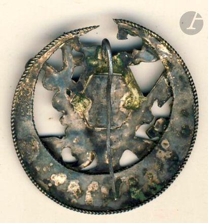 Rarissime insigne du 31e RTA (S et T n°149) dissous à Constantine le 25 Août 1940....
