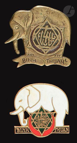 2 insignes - BM en EO 4e RTT Drago Ber et...