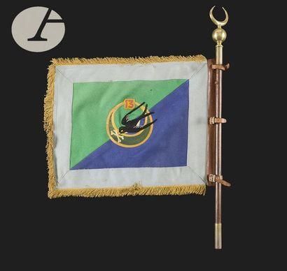 Fanion de la 1ère Compagnie d'Appui du 13e...