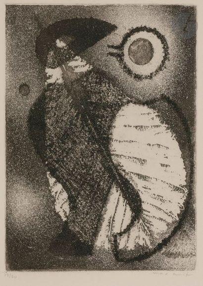 Max ERNST (1891-1976) Oiseaux, 1950 Eau-forte...