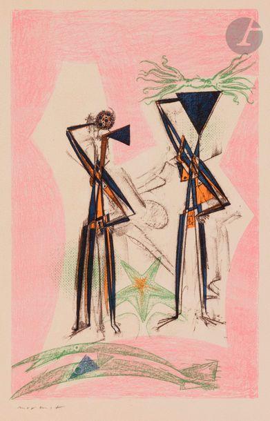 *Max ERNST (1891-1976) Etoile de mer (fond...