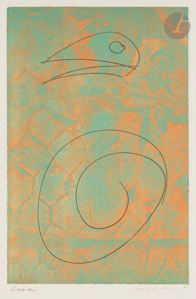 Max ERNST (1891-1976) Terre des nébuleuses,...