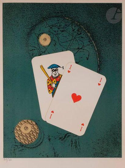 Max ERNST (1891-1976) Affiche pour l'exposition...