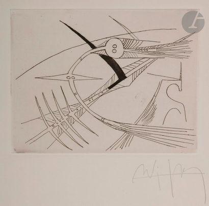 Wifredo LAM [cubain] (1902-1982) Tarnaud...