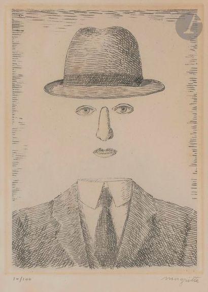 René MAGRITTE [belge] (1898-1967) Paysage...