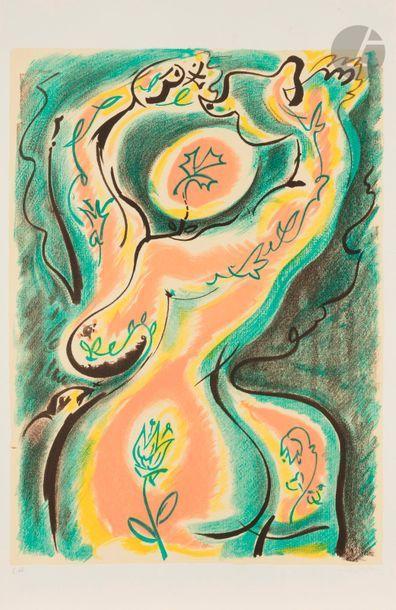 André MASSON (1896-1987) La Métamorphose...