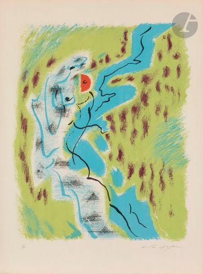 André MASSON (1896-1987) Affiche pour le...