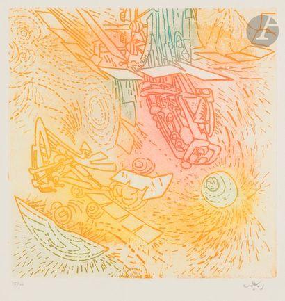 Roberto MATTA [chilien] (1911-2002) Compositions...