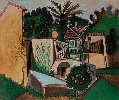 Pablo PICASSO (1881-1973) (d'après) La Villa...