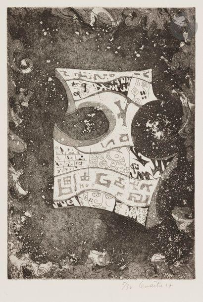 Maurice LEMAÎTRE (1926-2018) Composition...