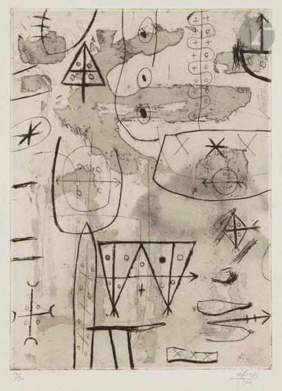 Guido LLINÁS [cubain] (1923-2005) Compositions...
