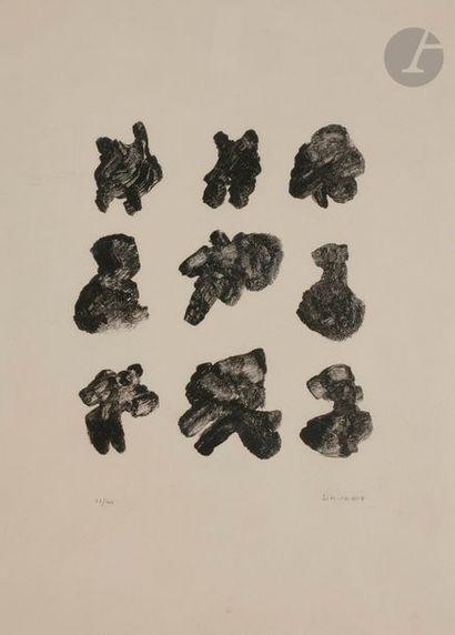 Henri MICHAUX (1899-1984) Sans titre, 1967...