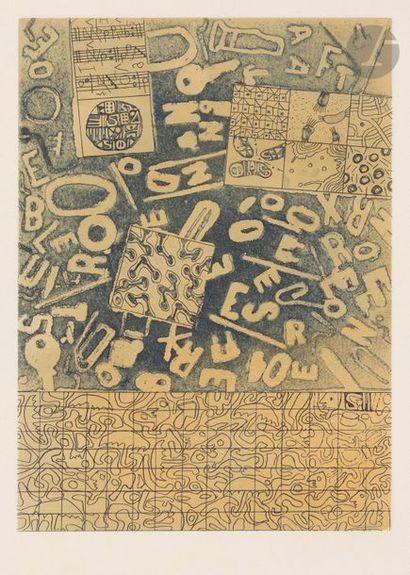 Roland SABATIER (né en 1942) Composition...